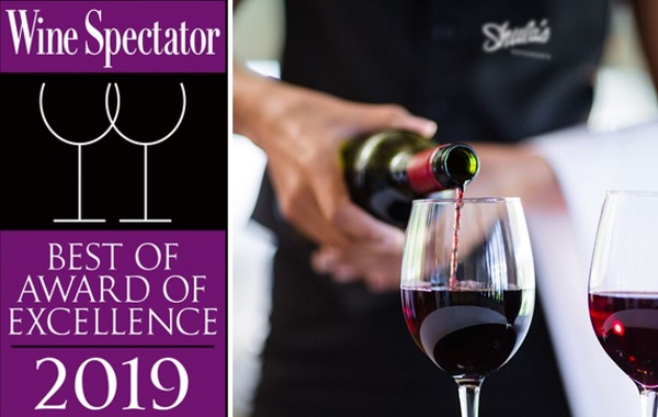 2019 Wine Spectator Best of Award of Excellence