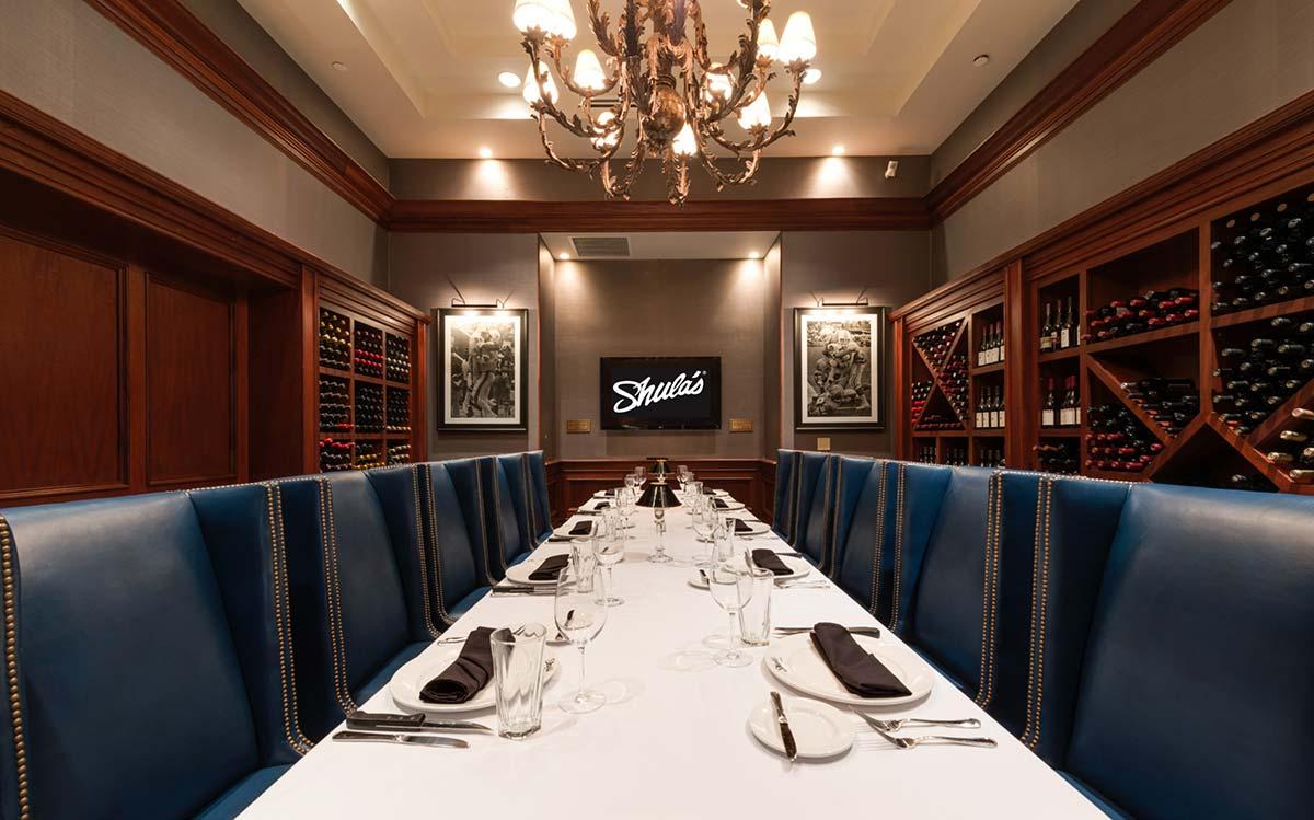 Shula's Steak House Naples - Wine Room