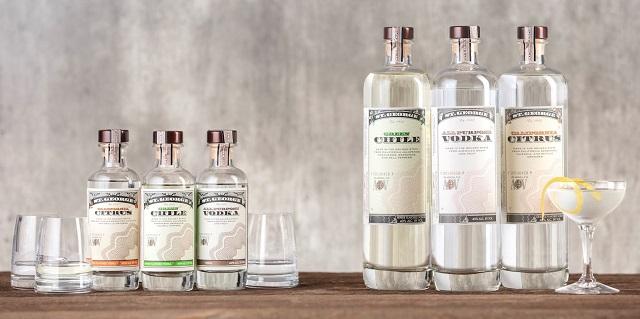 St George Vodkas